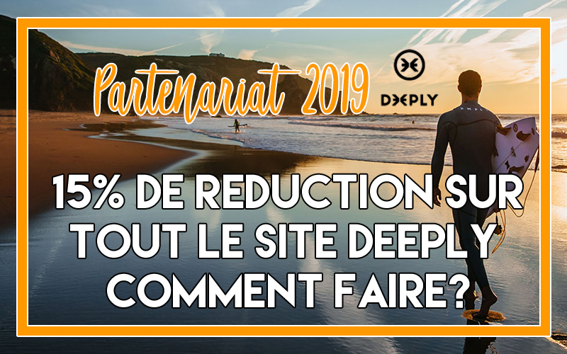 Offre promotionnelle Deeply