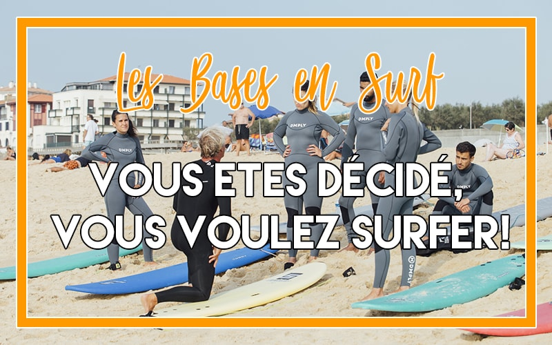 Apprendre à surfer avec une école de surf
