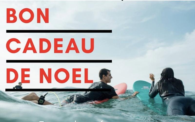 Le Bon Cadeau de Noel  pour des Cours de Surf